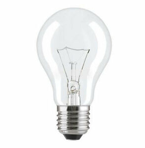 E27 230V Light Bulb 25W 40W 60W 75W 100W 150 200W standard ES Incandescent clear