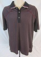 Callaway X-Series Short Sleeve Striped Polo Shirt - Fits Like Men's M/L - J226