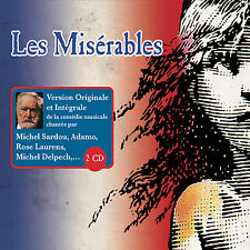 LES MISERABLES - 2 CD - VERSION ORIGINALE ET INTEGRALE DE LA COMEDIE MUSICALE