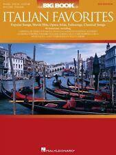 The Big Book of Italian Favorites Sheet Music Piano Vocal Guitar Songb 000311185