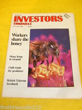 INVESTORS CHRONICLE - HONG KONG IN TURMOIL - JUNE 9 1989