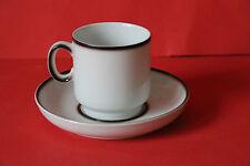 Thomas Porzellan Scandic Shadow Kaffeetasse mit Untertasse Tasse Untere Gedeck