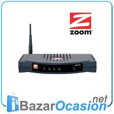 Router Wireless G + ADSL 2 /2+  Modem Zoom X6 5590 4 Port Switch Firewall Nuevo