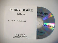 PERRY BLAKE : THE ROAD TO HOLLYWOOD ♦ CD SINGLE PORT GRATUIT ♦