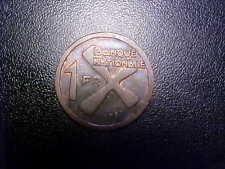 1961 BANQUE NATIONALE 1 FR KATANGA -  EE74UXX