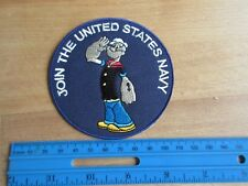 Us Army USN Popeye join the Navy SEALs Marines Corps USMC USAAF Patch WWII wk2