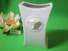 Vase 18 cm Gorgona weiß  Versace von Rosenthal
