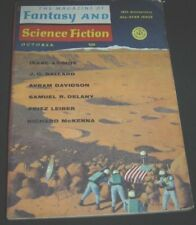 The Magazine of Fantasy And Science Fiction October 1967 Asimov Fritz Leiber