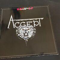 ACCEPT - BEST OF  German1st Press Brain Records 1983 LP NM