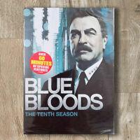 Blue Bloods Season 10 (DVD, 4-Disc, Region 1) Brand NEW Free Shipping