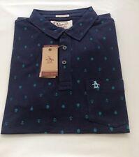 Original Penguin Blue Medium Polo Shirt