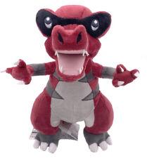 """Krookodile Intimidation Pokemon Waruvial Plush Toy Dragon Stuffed Animal 11"""""""