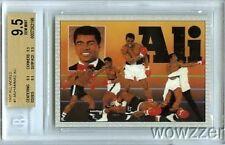 1991 All World Boxing 2 #1 Check List #1 Muhammad Ali BGS 9.5 GEM MINT