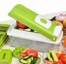 12pcs Super Slicer Plus Vegetable Fruit Peeler Chopper Cutter Grater Nicer Dicer