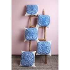 Suzani Embroidery Pillow Cases Home Decorative Set Of 5 PCs Cushion Cover