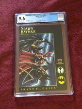 Spawn-Batman #1 CGC 9.6 - Todd McFarlane & Frank Miller - Manly men in tights