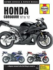 Haynes 2007-2012 Honda CBR600RR Owners Maintenance Repair Service Shop Manual