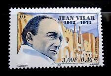 SELLOS FRANCIA 2001 3398 JEAN VILAR ACTOR DIRECTOR DE TEATRO 1v.
