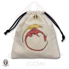 Q-workshop Dice Bag Color Dragon Linen w/ Drawstring BDRA102