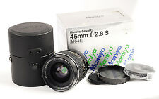 Mamiya Sekor C 45mm F2.8 S  Lens for 645 Cameras.(1610)
