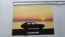 Lancia Beta HPE 1976 depliant originale italiano auto brochure