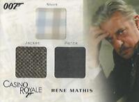 "James Bond In Motion - TC04 ""Rene Mathis"" Costume Card #0952/1300"