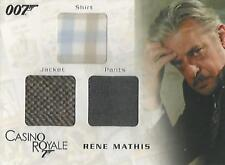 "James Bond In Motion - TC04 ""Rene Mathis"" Costume Card #0952/1300"