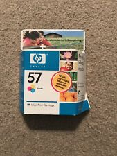 HP 57 Tri-Color Ink Cartridge Sealed/New Expired 2007 Authentic Original Box