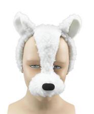 Agnello FACE MASK & Suoni Animali Pasqua Costume Vestito Nuovo