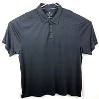 Nat Nast Luxury Originals Mens Polo Shirt 2XL XXL Modal Blend Charcoal Gray