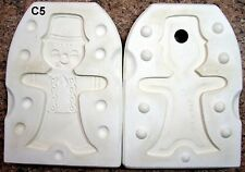 Arnels #612 Ginger Bread Boy Ceramic Mold (C5)