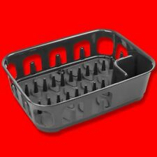 CURVER ESSENTIALS QUALITY RECTANGULAR DISH DRAINER DRAINING RACK PLASTIC