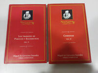 MIGUEL DE CERVANTES COMEDIAS V-4 + LOS TRABAJOS DE PERSILES Y SIGISMUNDA LIBRO