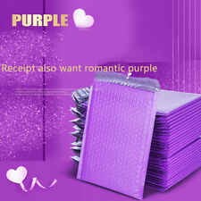 10pcs 7x9.8 IN Poly Bubble Mailer Purple Self Seal Padded Envelopes/mailing.mc