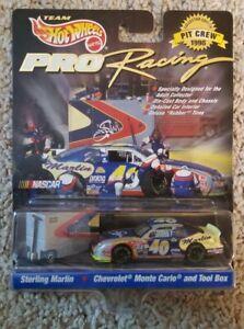 1998 Hot Wheels Pro Racing Pit Crew NASCAR #40 Sterling Marlin 1:64 Chevrolet