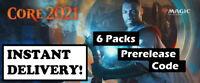 MTGA MTG Arena M21 Core Set 6 PACKS Prerelease Code - ⚡ Instant Delivery ⚡