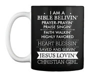 Im Bible Believing Jesus Christian Girl Gift Coffee Mug