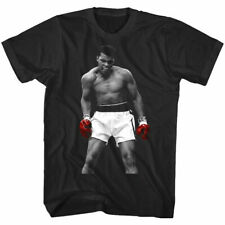 Muhammad Ali Knockout Victory Men's T-shirt Red Boxing Gloves