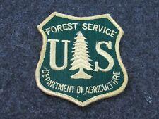 Us Forestry Service Patch Original Vintage Government Surplus (Pt1)