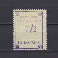 NEW REPUBLIC SOUTH AFRICA 1887, SG# 88b, CV £65, MH