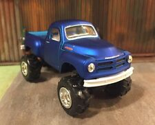 1954 Studebaker Lifted 4x4 Custom 1:64 Diecast Off Road Mud Farm Truck M2