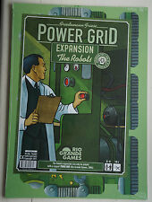 Power Grid Board Game Expansion: The Robots