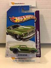 '69 Ford Mustang #232 * GREEN * 2013 Hot Wheels * G15