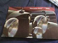 1968 Mercedes Benz Full Line USA Market Large Color Brochure Catalog Prospekt