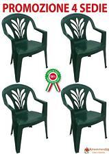 Fabbrica Sedie Plastica Impilabili.Sedie Impilabili Da Esterno Plastici Acquisti Online Su Ebay