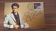 Roger Federer, Maximumkarte Sponsor Jura, Ersttagstempel / Canceled First Day