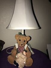 Vintage Life Like Bear and Doll Lamp Baby/Nursery /Children