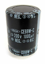 Radial Snap- In Electrolytic Capacitor, 1000uF 200V, 85°C: Mfg. Marcon