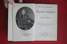 *VINTAGE* NICHOLAS NICKLEBY by Charles Dickens; Fireside Dickens 'Phiz' (HC, ND)