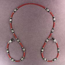 Ladybug Eyewear Necklace Eye Sun Glasses Keeper Holder Retainer Beaded Chain